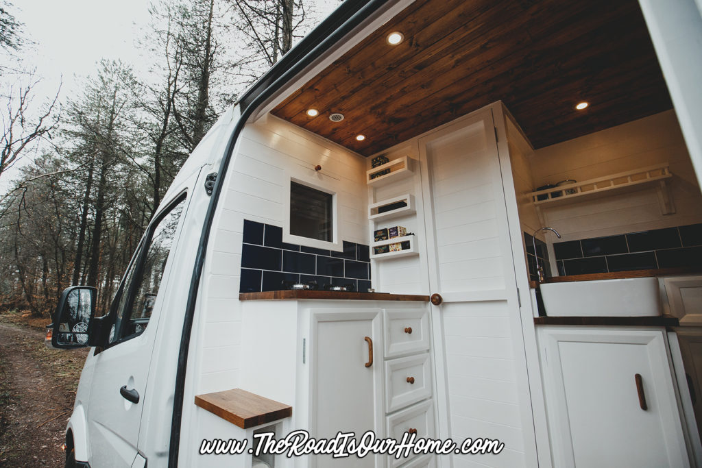 The Van Conversion The Road Is Our Home The Road Is Our Home